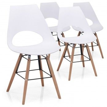 Chaise De Bureau Haute De Cuisine Ou Pour La Salle A Manger Menzzo Avec Images Chaise Bureau Chaise De Bureau Blanche Chaise Salle A Manger