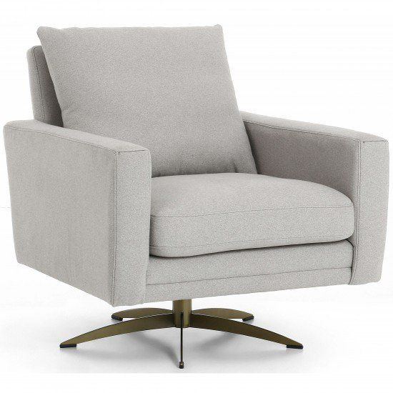 Lyndon Swivel Chair Derby Silver With Images Swivel Chair Chair High Fashion Home