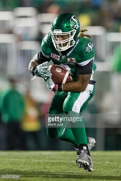 REGINA, SK - SEPTEMBER 24: Curtis Steele #2 of the Saskatchewan... #bytcask: REGINA, SK - SEPTEMBER 24: Curtis Steele #2 of the… #bytcask