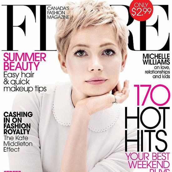 Michelle Williams Flare July 2012 Pictures