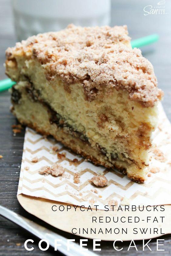 Low Fat Cinnamon Coffee Cake 103