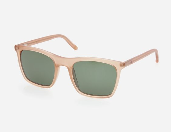 cool frames in sunbathed colors: VIER in color nude.