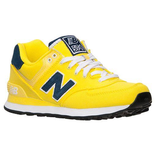 new balance yellow shoes. women\u0027s new balance 574 casual shoes - wl574poi poi | finish line sneaker game pinterest shoes, shoe and bag yellow u