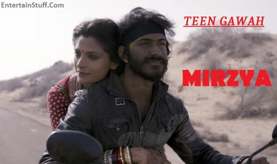 Watch new #song Teen Gawah Ishq Ke Video From Mirzya Bollywood Movie 2016