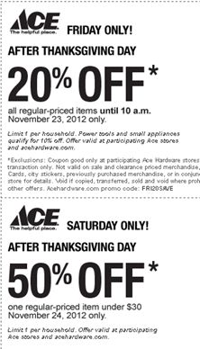 ace hardware memorial day flyer