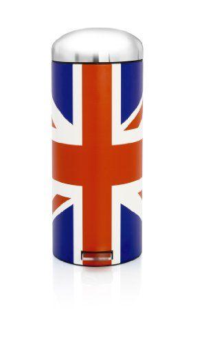 Brabantia 480362 Union Jack Pedal Bin