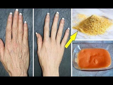 استخدميها 3ايام وودعي تجاعيد اليدين والاسمرارالذي اخجلك لسنوات مجربة لتب Beauty Skin Care Routine Beauty Skin Care Skin Care Mask