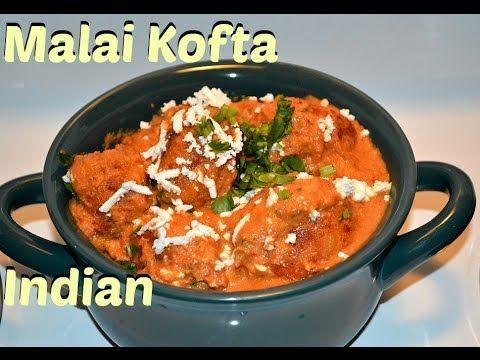 Malai Kofta Authentic Punjabi (Cheese balls in Creamy Gravy) Recipe video by chawlas-kitchen.com - YouTube