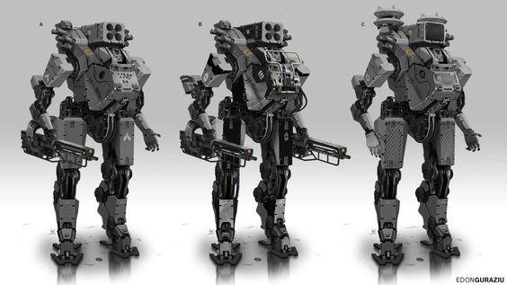 Battle Robot Concept by DrZoidberg96.deviantart.com on @DeviantArt