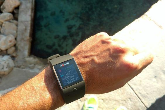 Montre Polar M600 #watch #hightech #smartwatch #sport #outdoor #watches #smartphone
