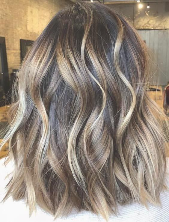 30 Natural Balayage Ombre Hair Color Trends For 2018 Haare