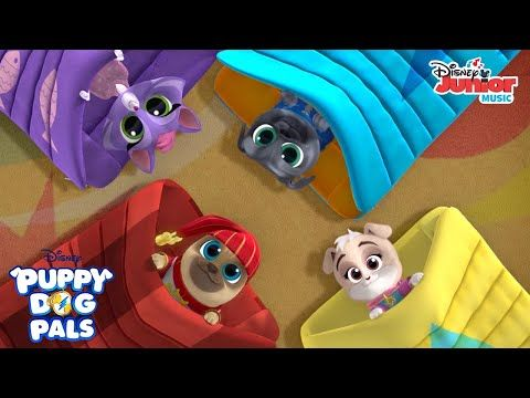 Let S Have A Slumber Party Music Video Puppy Dog Pals Disney Junior Youtube Dogs And Puppies Cute Puppy Videos Disney Junior