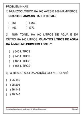 Apostila Matematica Em Pdf Olimpiada De Matematica Apostila De
