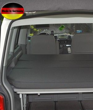 Visco Mattress in three different degress of hardness for the VW T5 California Beach