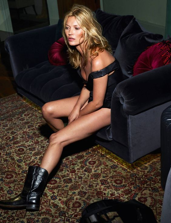 Kate Moss by Mert Alas & Marcus Piggott for Vogue Paris October 2015 2: