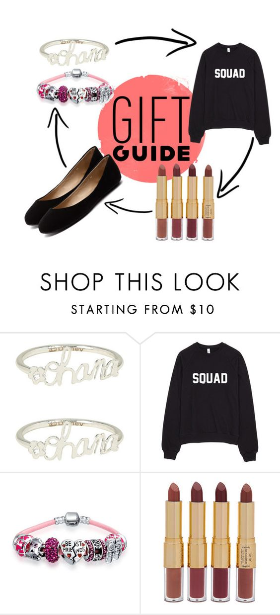 """""""Gift Guide: Your Squad"""" by chezqah-agnir on Polyvore featuring Disney, Bling Jewelry, tarte and Siren"""