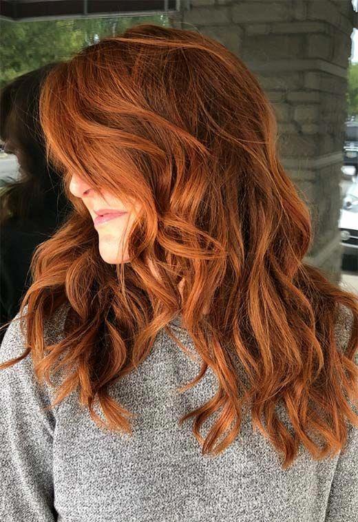 Copper Hair Color Shades Copper Hair Dye Tips Beautifulredhair