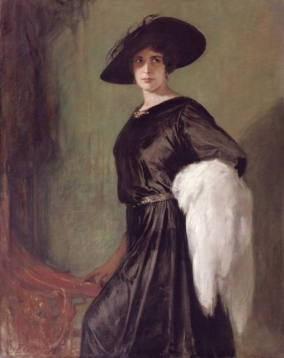 Portrait of the actress Hanna Ralph (1885-1978). Friedrich August von Kaulbach (German, 1850–1920)