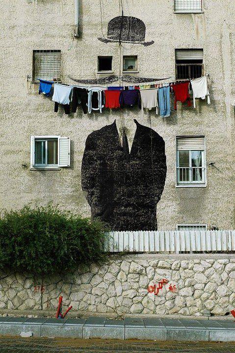 Clothing smile | via STREET ART UTOPIA: Art Clothing, Urban Art, Clothing Smile, Street Art, Streetart Graffiti, Art Wall, Art Street, Art Photos, Graffiti Art