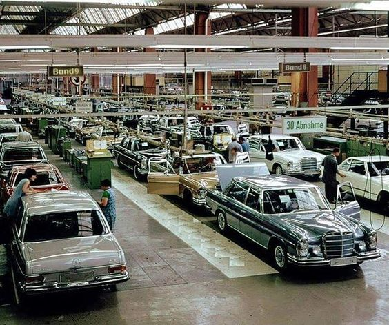 "What era was this photo taken?  Picture courtesy of ""Mercedes-Benz of the 60s, 70s and 80s."" #rodgerdodge #mercclub #mercedes  #mercedesbenz  #mercedesclub #mbusa #Benz #threepointedstar  #mercedesbenzclassic #classiccars  #luxurycars  #mbfanphoto #MercedesFans #car #supercar  #dreamcars #coupe #insidebenz  #countryliving #germancar #sportscars  #carsofinstagram #insidebenz #thebestornothing #cars"