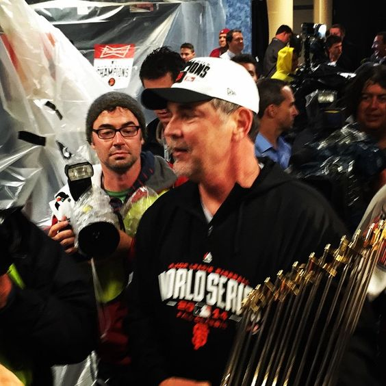 Bochy's 3rd World Series championship as head coach of the Giants! Do I hear hall of fame?