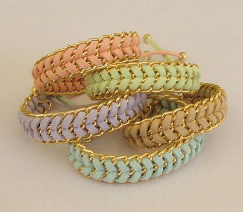Pastel chains.