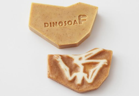 Taking bathing to the next level, this is such a cool soap!