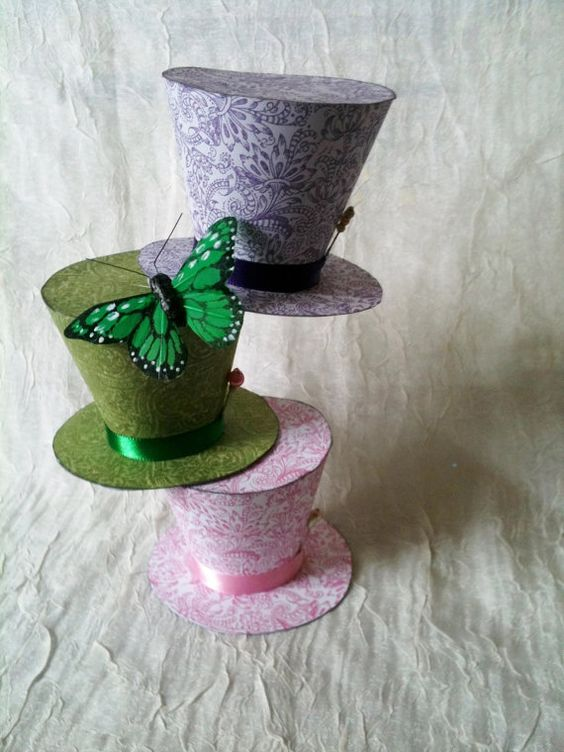 Alice in wonderland party table decor by WhimsicalKrafts on Etsy, $16.00