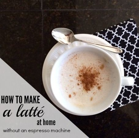 how to make an iced latte without an espresso machine