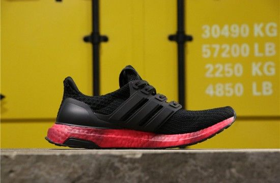 Adidas Ultra Boost Colored Sole Red FV7282