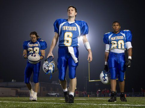 Taylor Kitsch, Gaius Charles and Scott Porter in Friday Night Lights