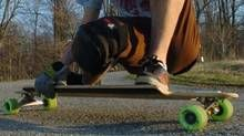Longboard entrepreneur uses apps to bring some order to his expanding operation