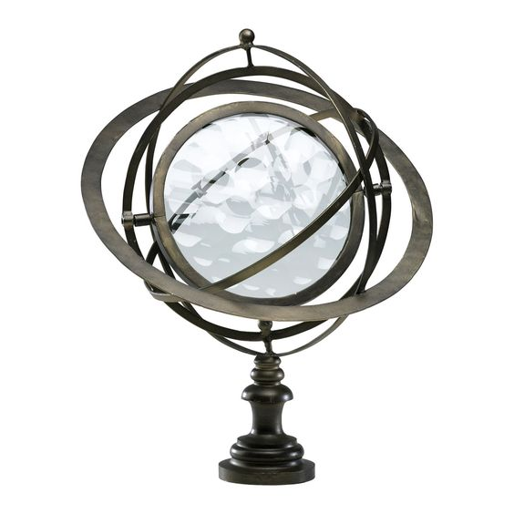 World Globe by Cyan Design 02829 at Plum28 #PlumPerfect: Globes Maps, Globe Statuette, Decor Design, Cyan Designs, World Globes, Flemish Iron