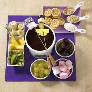Das Rezept für Schokoladen-Fondue und weitere kostenlose Rezepte auf LECKER.de