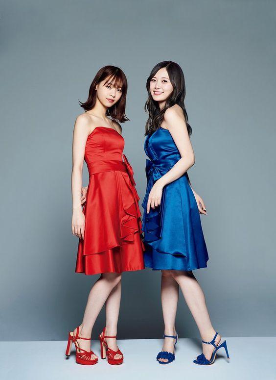 西野七瀬さんと白石麻衣さん