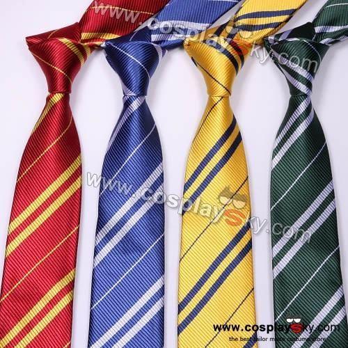 Harry Potter Gryffindor//Ravenclaw//Slytherin//Hufflepuff Tie Necktie Costume