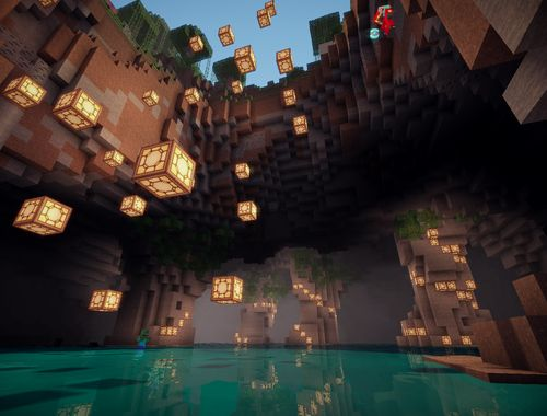 Minecraft Cave House!! Awesome!! Build Make It Epic Pinterest