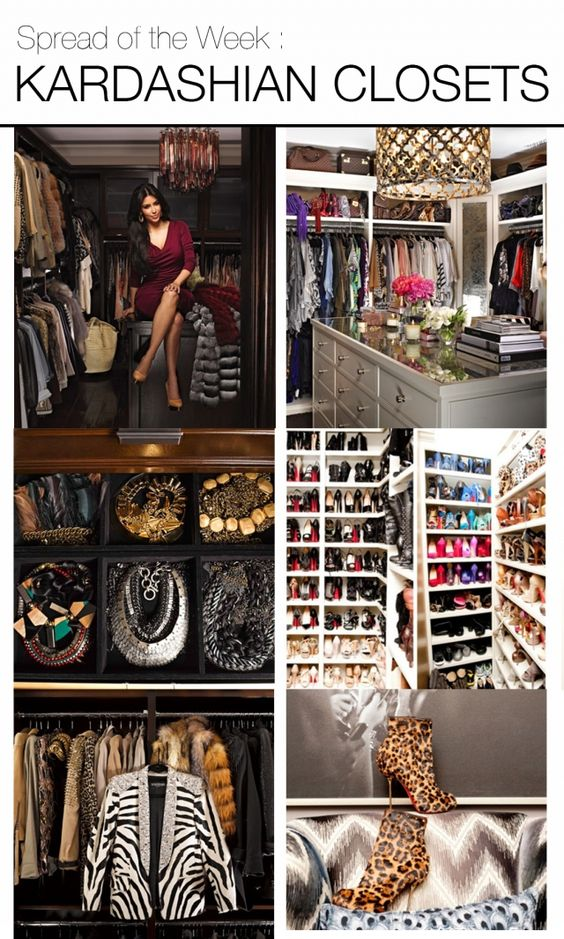 Closet, Mountain homes and Spreads on Pinterest