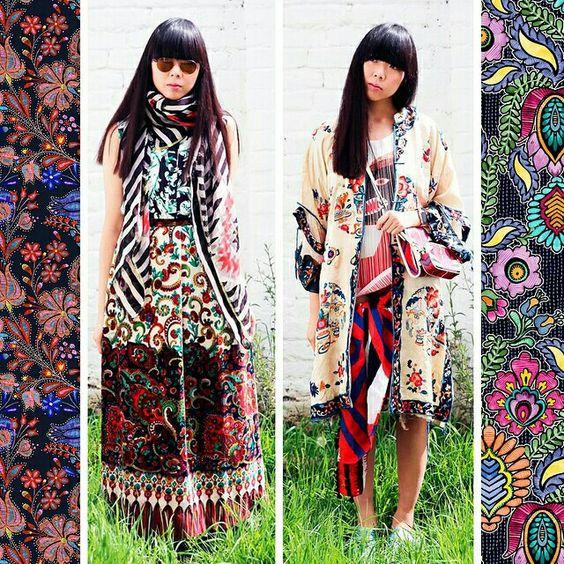 70's hippie look..