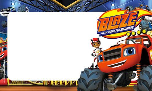 Image Result For Blaze And The Monster Machines Para Imprimir Escola