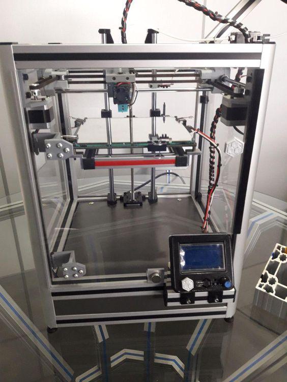 Hypercube Evolution By Tunnelvision In 2020 3d Printer Machine 3d Printer 3d Printer Parts