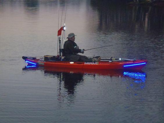 Pinterest the world s catalog of ideas for Kayak lights for night fishing