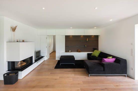 Um und anbau wohnhaus wukowojac in mellrichstadt von for Architekten wohnzimmer