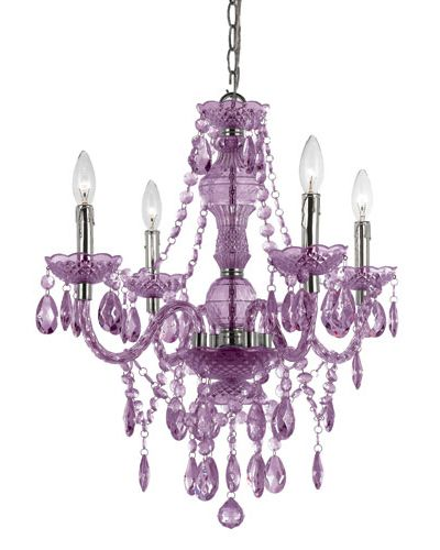 Naples Purple Chandelier by Elements: