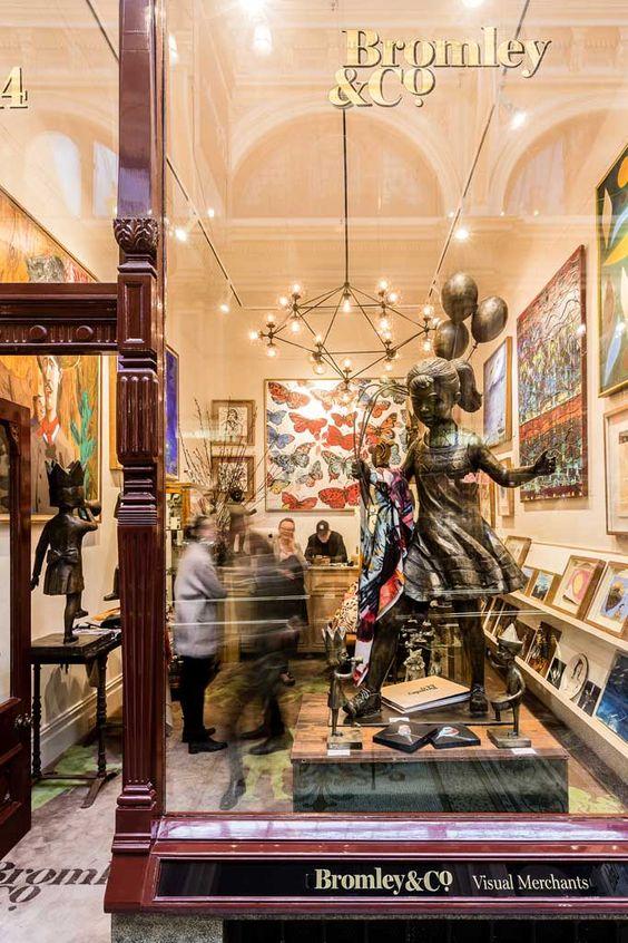 Bromley Co BLOCK ARCADE GALLERY Shop 14 280 Collins Street Block Arcade Studios