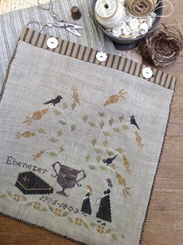 Mourning Tree Sewing Bag - Stacy Nash Primitives