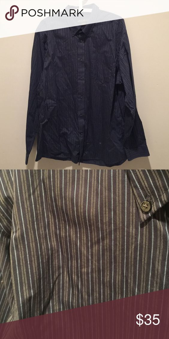 Men's Eddie Bauer Wrinkle Free Relaxed Dress Shirt New without tags Eddie Bauer Shirts Casual Button Down Shirts