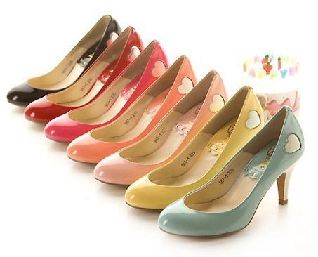 colorful, fun shoes