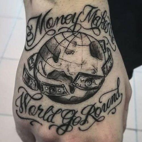 101 Best Money Tattoos For Men Cool Designs Ideas 2019 Guide Money Tattoo Tattoos For Guys Tattoos