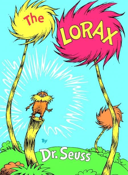 The Lorax, the first book i remember reading, i still have it. 1973